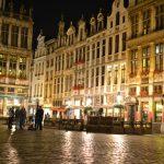 世界遺産 ベルギーの超有名観光地 グランプラスで夜景を撮る