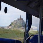 個人手配でモンサンミッシェル観光 TGVとバスの旅