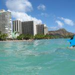 ハワイの超・超・超定番スポット ワイキキビーチを満喫