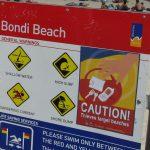 シドニー2大ビーチのボンダイビーチへ行ってきた